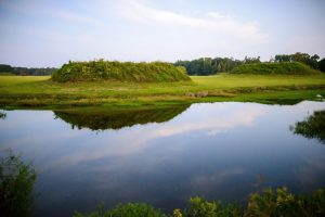 Mounds at the Moundville Archaeological Park