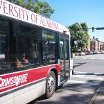 UA shuttle bus