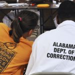 A professor with an Alabama inmate