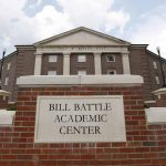 Front of Bill Battle Academic Center