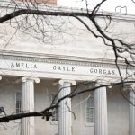 Close-up image of Gorgas Library