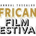 A logo of the Africana Film Festiva;
