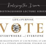 A logo of the Realizing the Dream Lecture Series