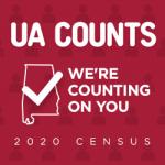 UA Counts 2020 Census graphic