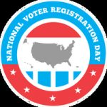 National Voter Registration Day emblem