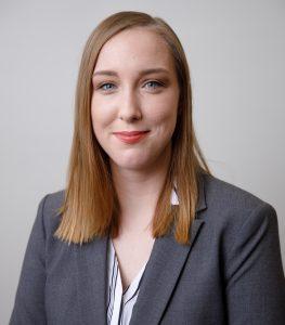 A headshot of Bethany Sparks
