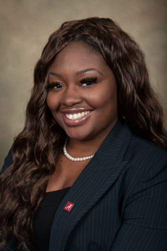 Khadeidra Billingsley, a third-year Ph.D. English student