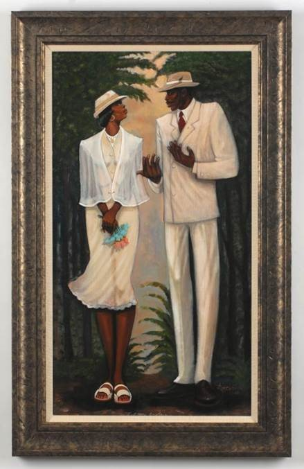 Art from the Paul R. Jones Collection of American Art at The University of Alabama.