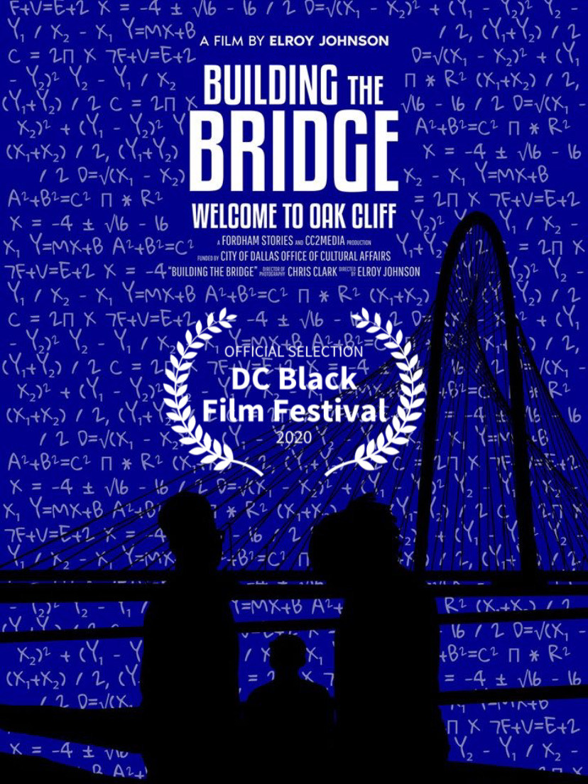 A poster for Building the Bridge documentary