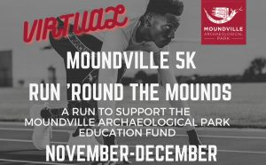 The Moundville virtual 5K poster.
