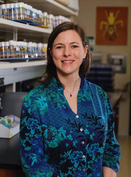 Dr. Laura Reed, associate professor of biological sciences