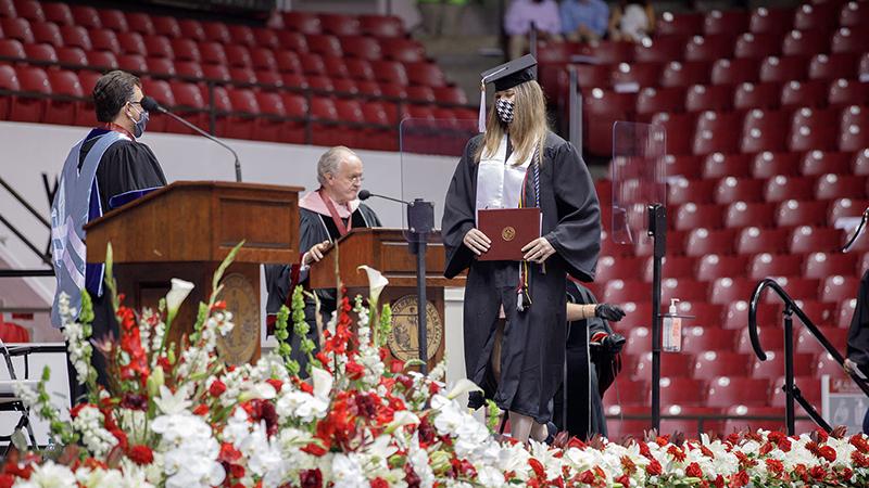 Image of graduation ceremony
