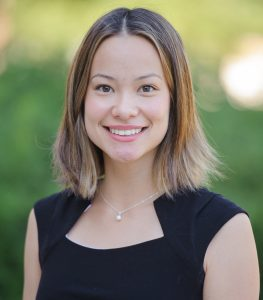 A headshot of Caroline Yuk