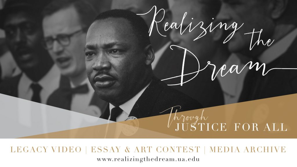 Realizing the Dream Justice for All poster
