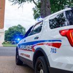 UA pd police car