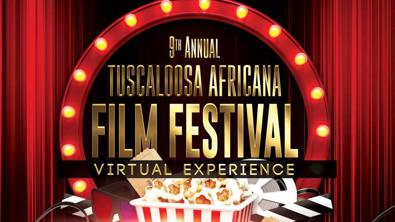 The Tuscaloosa Africana Film Festival poster