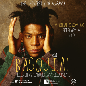 movie poster for Basquiat