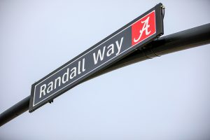 Street sign that says Randall Way
