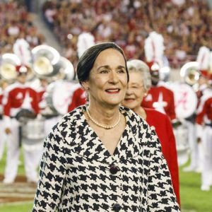 Dr. Catherine Johnson Randall was honored at UA Homecoming 2018.