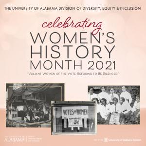 Celebrating Women's History Month 2021