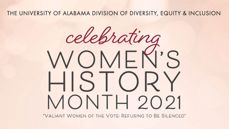 Celebrating Women's History Month 2021