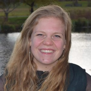 A headshot of Lindsey Drost