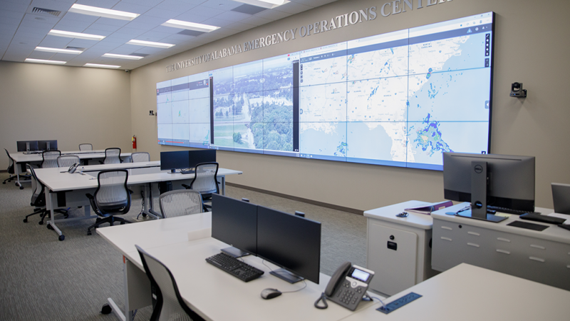 The Emergency Operations Center