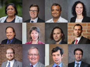 collage of head shots of faculty