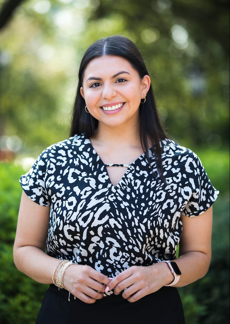 Outdoor headshot of Carina Villarreal from Diversity Equity and Inclusion