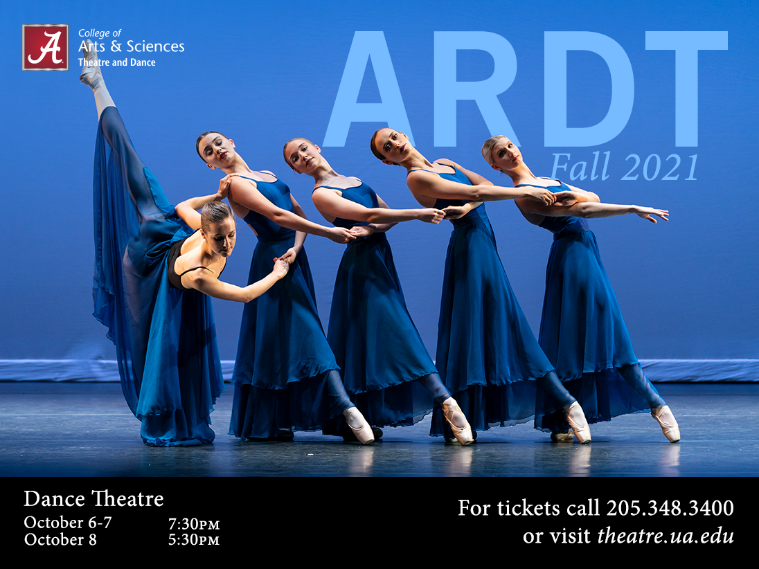 A poster for ARDT dance performance
