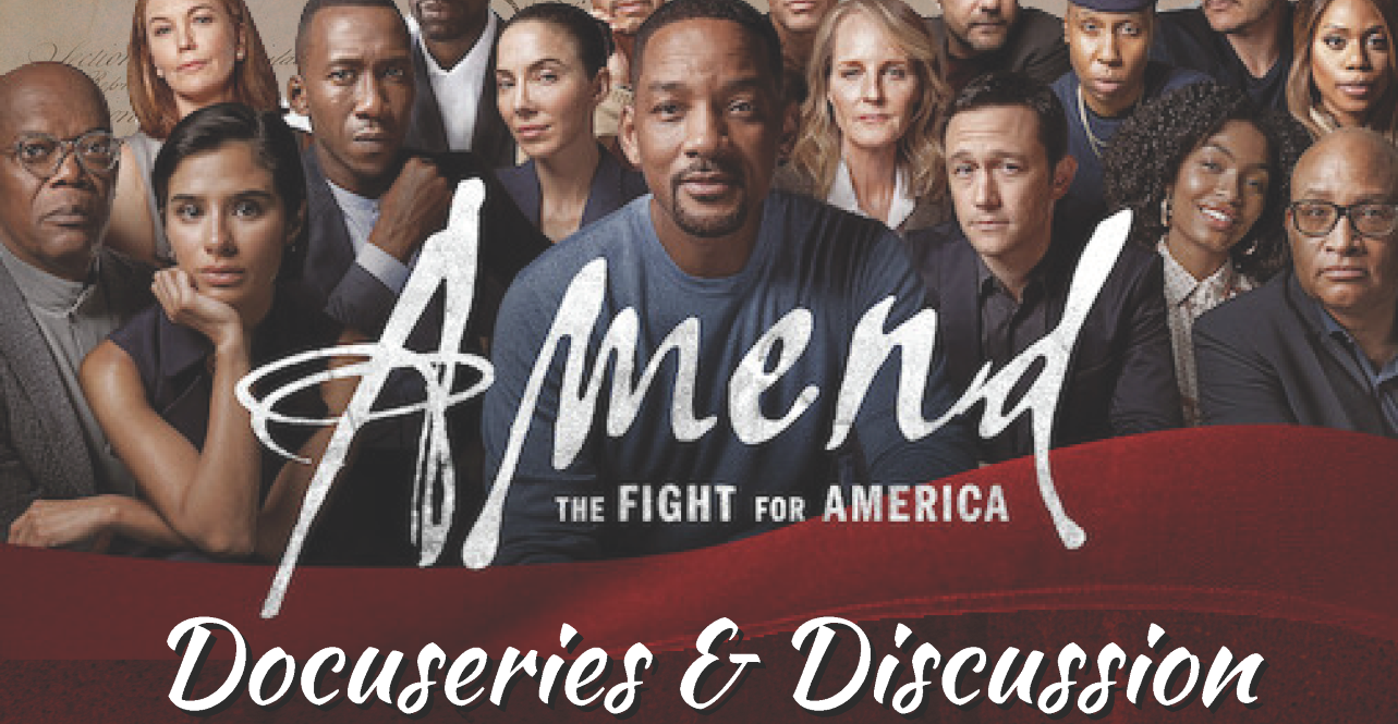 The cast of the Amend docuseries