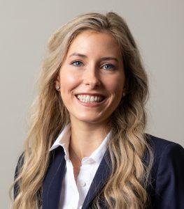 A headshot of Megan Baggett
