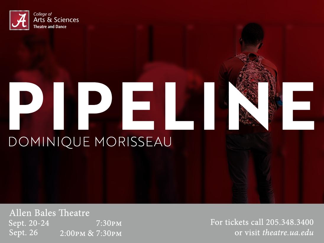 A graphic for Pipeline theatre show