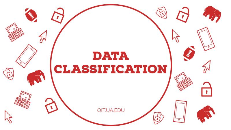 Data classification graphic