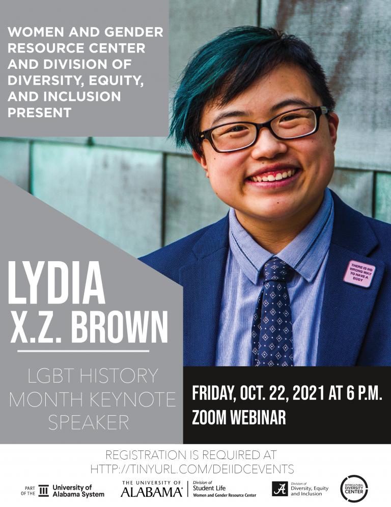 Flyer for UA's LGBTQIA+ History Month celebration